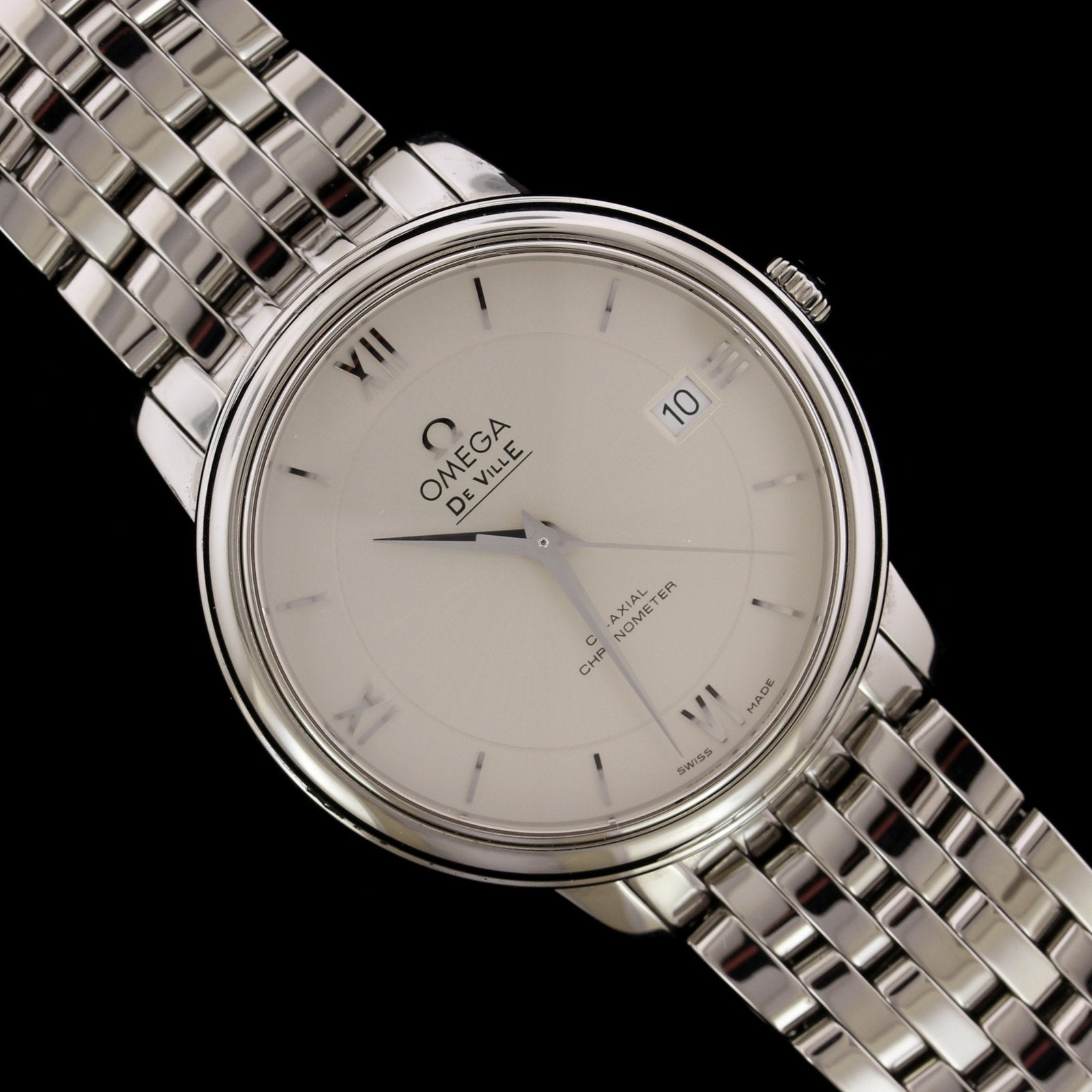 Omega Steel Deville Wristwatch