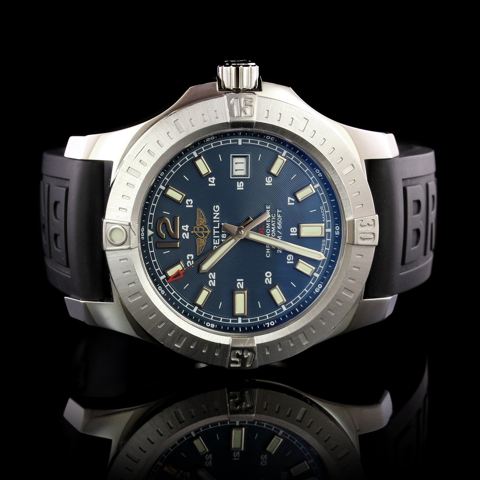 Breitling Steel Estate Colt Wristwatch