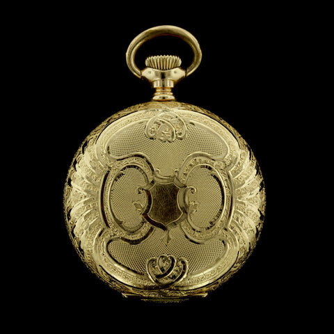 Waltham 14K Yellow Gold Pocket Watch