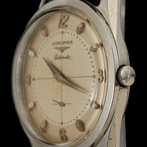 Longines Stainless Steel Estate Automatic Wristwatch