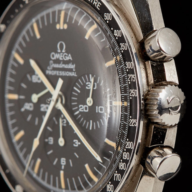 Omega Steel Estate Speedmaster Wristwatch