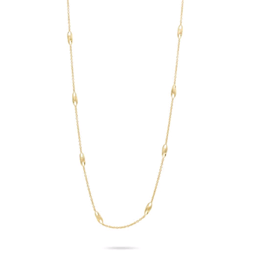 Lucia 18K Yellow Gold Station Necklace