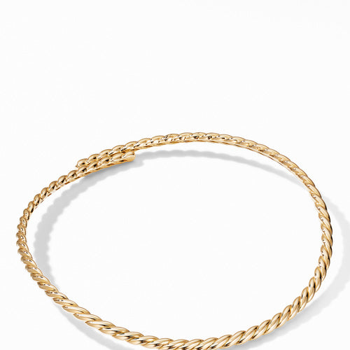 Gold Flex Necklace in 18K Yellow Gold