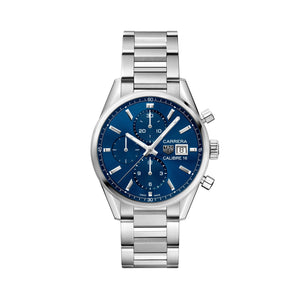 TAG Heuer Carrera Calibre 16 Automatic Mens Blue Steel Chronograph