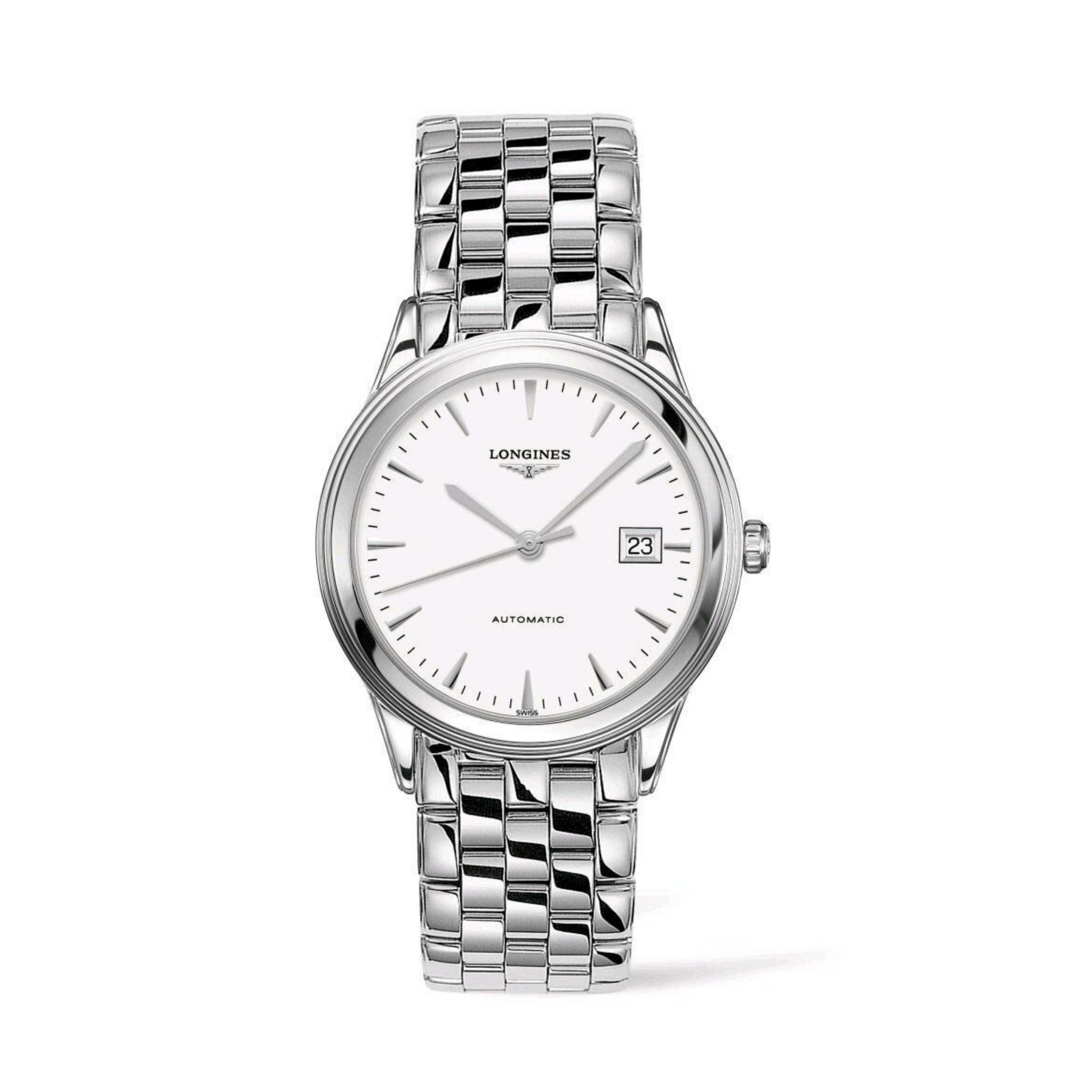 Flagship Automatic Stainless Steel White Dial Watch