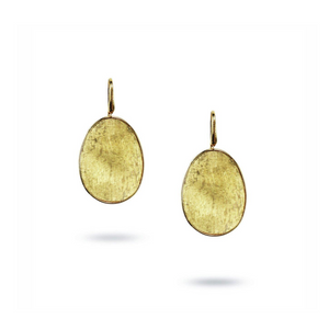 Lunaria 18K Yellow Gold Large French Wire Earrings