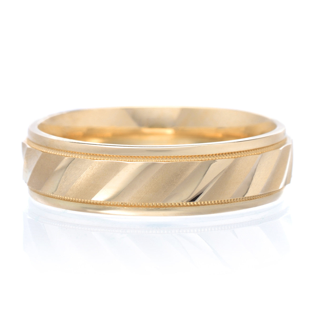 Men's 14K Yellow Gold Band 6mm