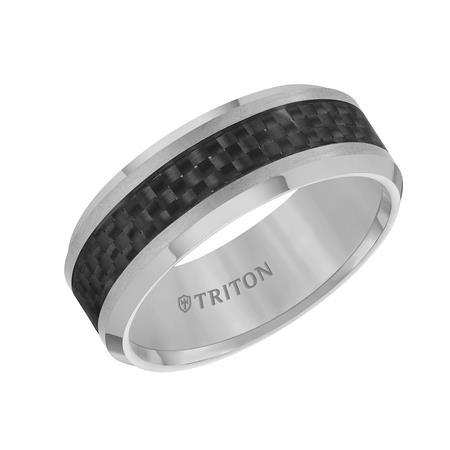 Men's Tungsten Carbide Band 8mm