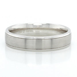 Men's Platinum Band 6mm