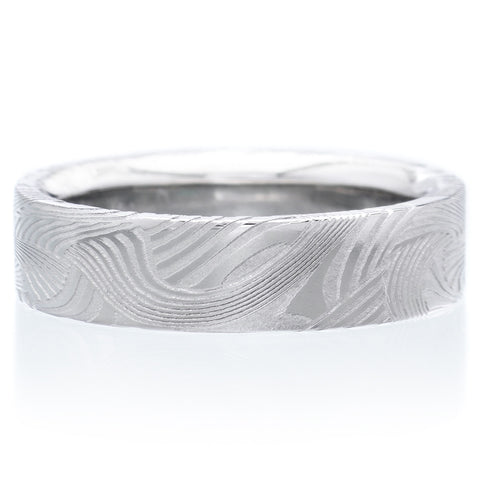 Stainless Steel Flat Top 6mm Band