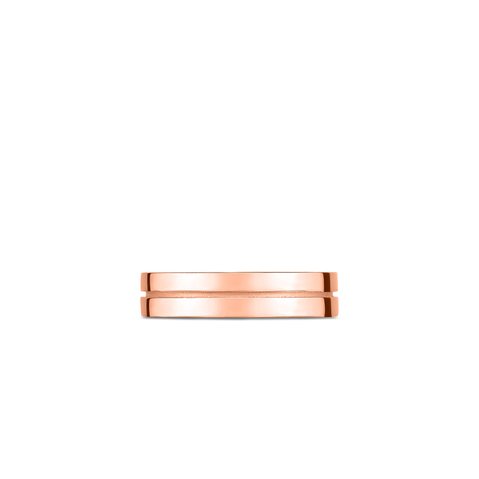 18K Rose Gold Portofino 2 Row Ring
