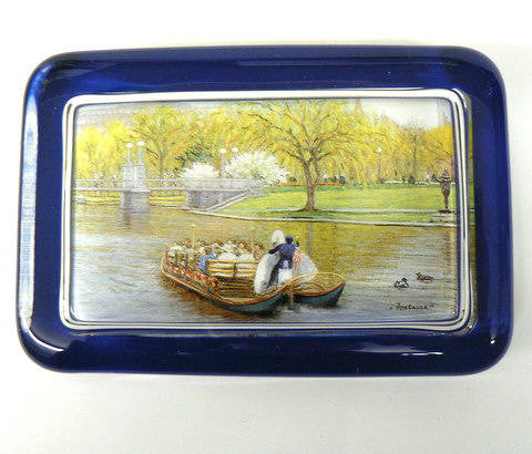 Fontaine Swanboat Paperweight