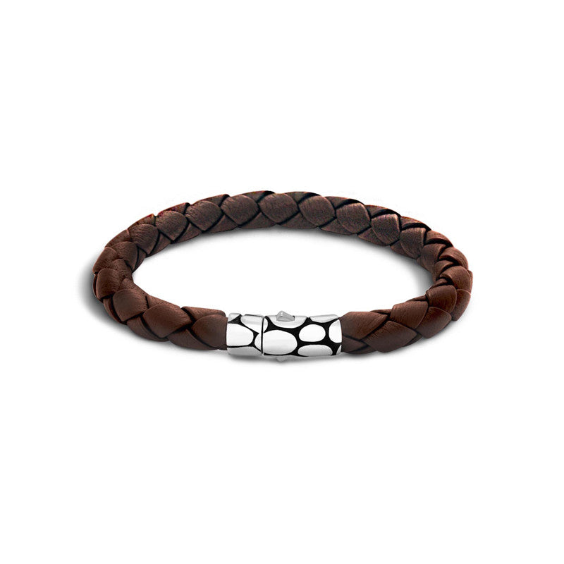 Kali Woven Leather Bracelet