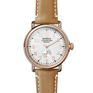 Runwell Rose Gold Plated 41mm Watch