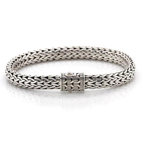 Classic Chain Sterling Silver Bracelet