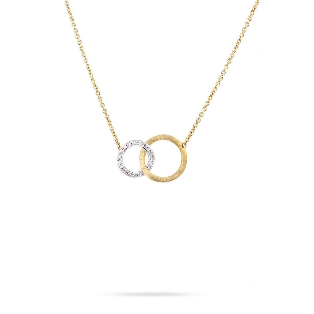 Jaipur 18K Yellow Gold & Diamond Small Pendant
