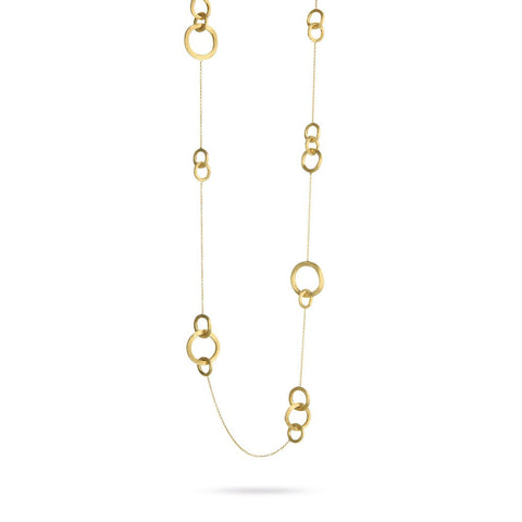 Jaipur 18K Yellow Gold Link Long Necklace