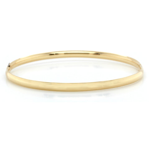 14K Yellow Gold Hinged Bracelet