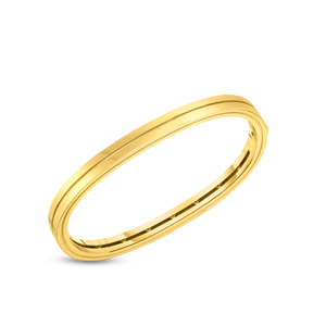 18K Yellow Gold Portofino 2 Row Bangle