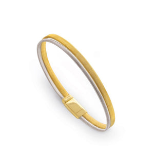 Goa 18K Two-Tone Gold 2 Row Bracelet