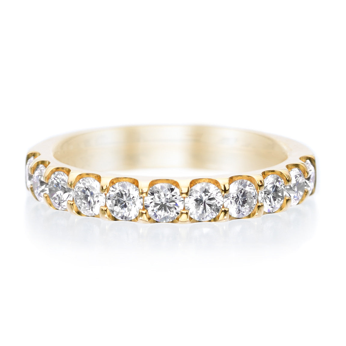 18K Yellow Gold Odessa™ 11 Stone Diamond Band