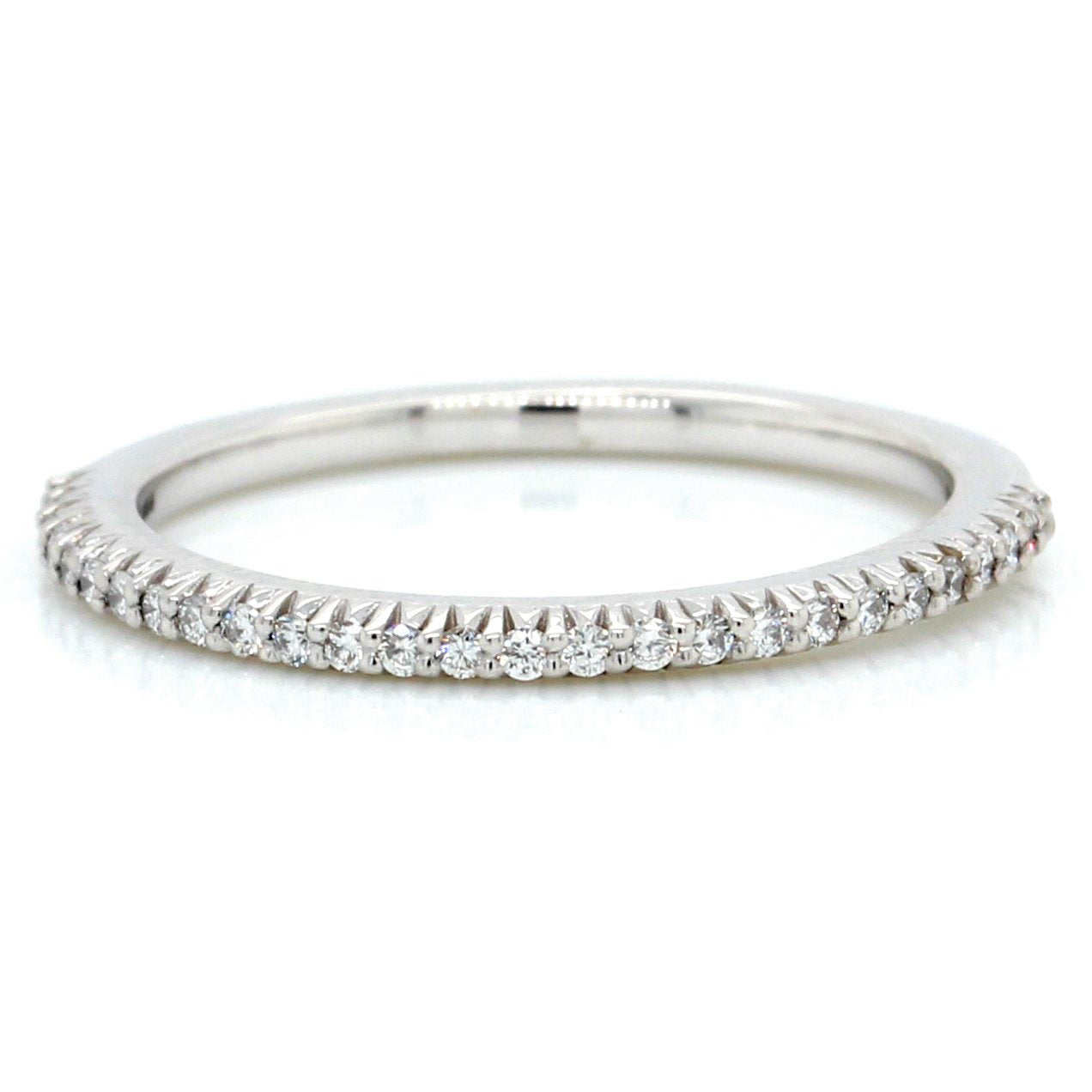 14K White Gold Bella Vita Diamond Band