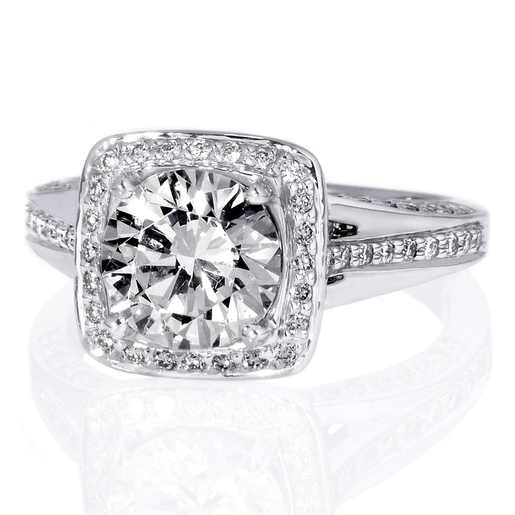 sydney wedding engagement milgrain jewellers diamond rings eternity nikky ring daniella