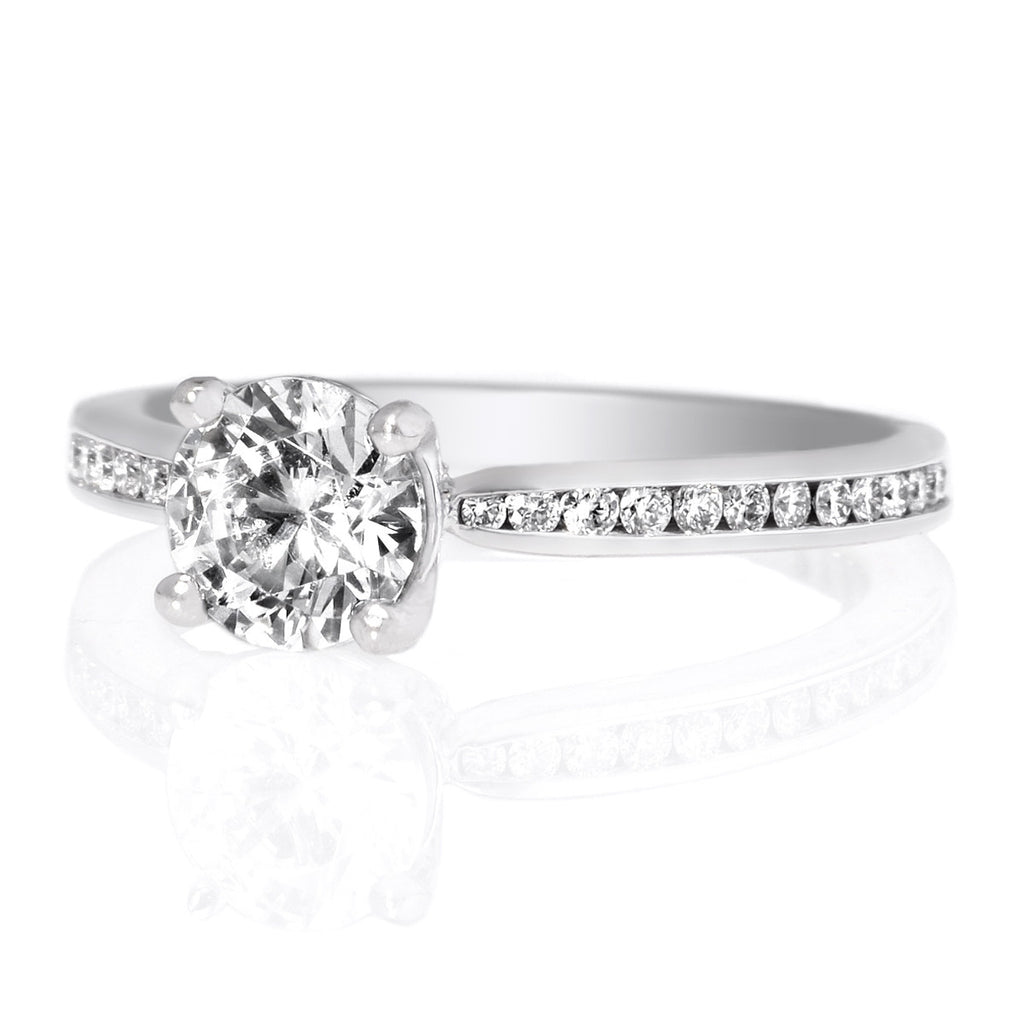 sky ring band round bezel and diamond by products diamonds front with set bands
