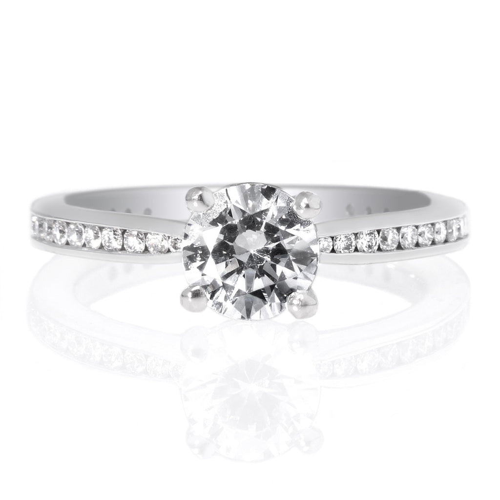 engagement ring with solitaire download joyous round diamond wedding rings band