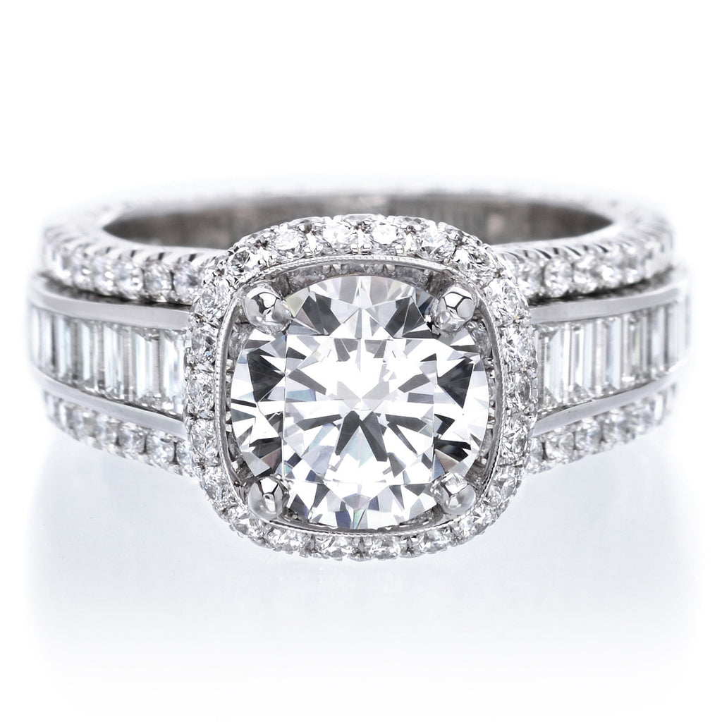 cut rings diamond ring mosaic white hi front round in nk engagement collection baguette ctw