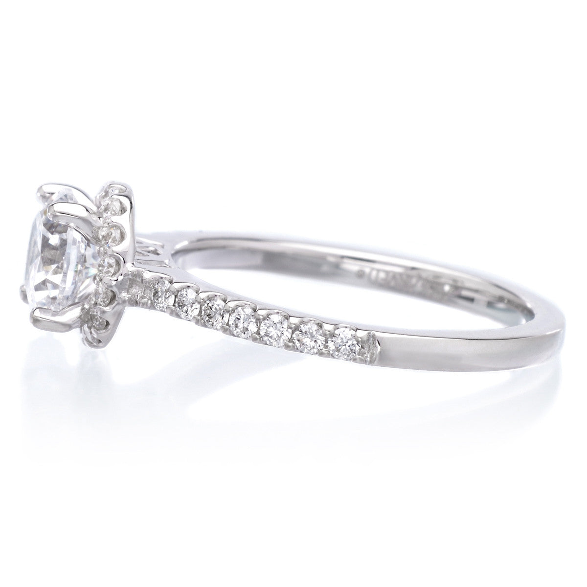 18K White Gold Layla Engagement Ring Setting