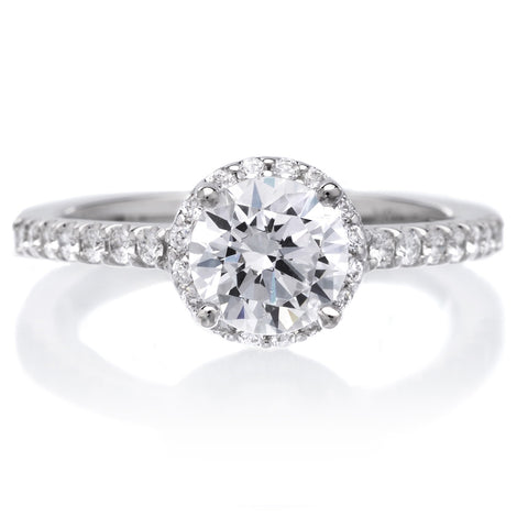18K White Gold Layla Engagement Ring