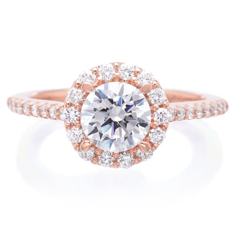 18K Rose Gold Judith Engagement Ring