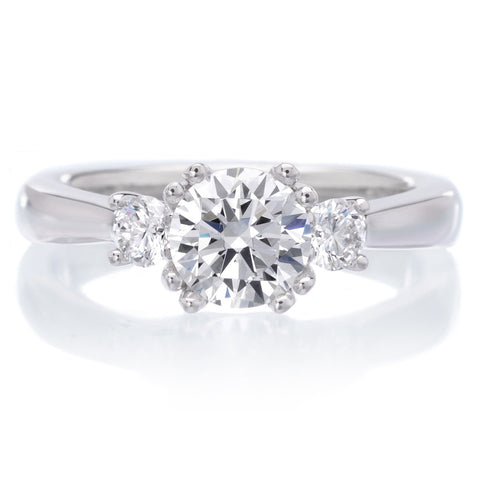 18K White Gold Amanda Engagement Ring