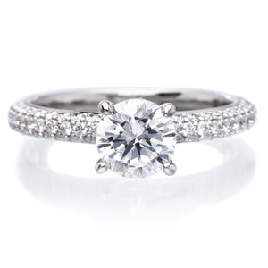 18K White Gold Helena Engagement Ring