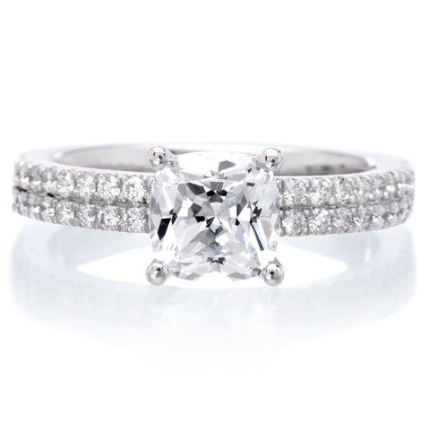 18K White Gold Pippa Engagement Ring