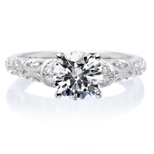 18K White Gold Peyton Engagement Ring
