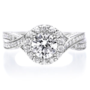 18K White Gold Lucinda Engagement Ring