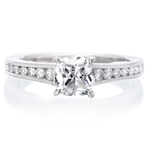 18K White Gold Tilda Engagement Ring