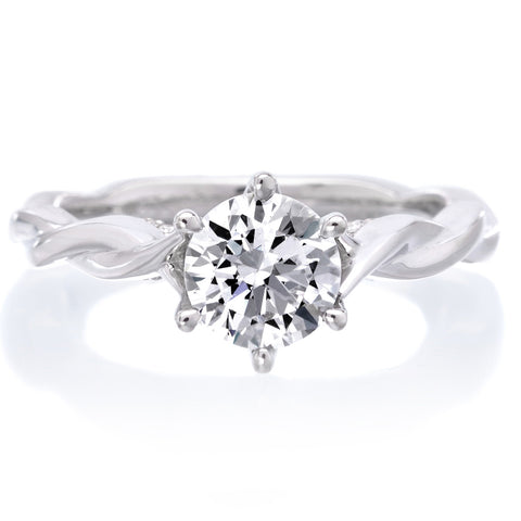 18K White Gold Tala Engagement Ring