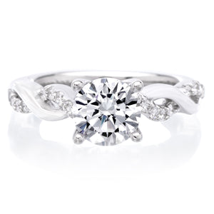 18K White Gold Gabriella Engagement Ring