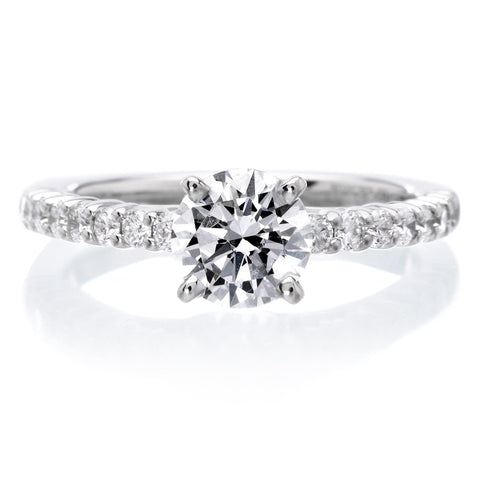 18K White Gold Natalie Engagement Ring