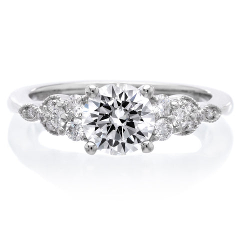 18K White Gold Adeline Engagement Ring