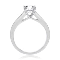 Unique Mixed Shape Engagement Ring Setting
