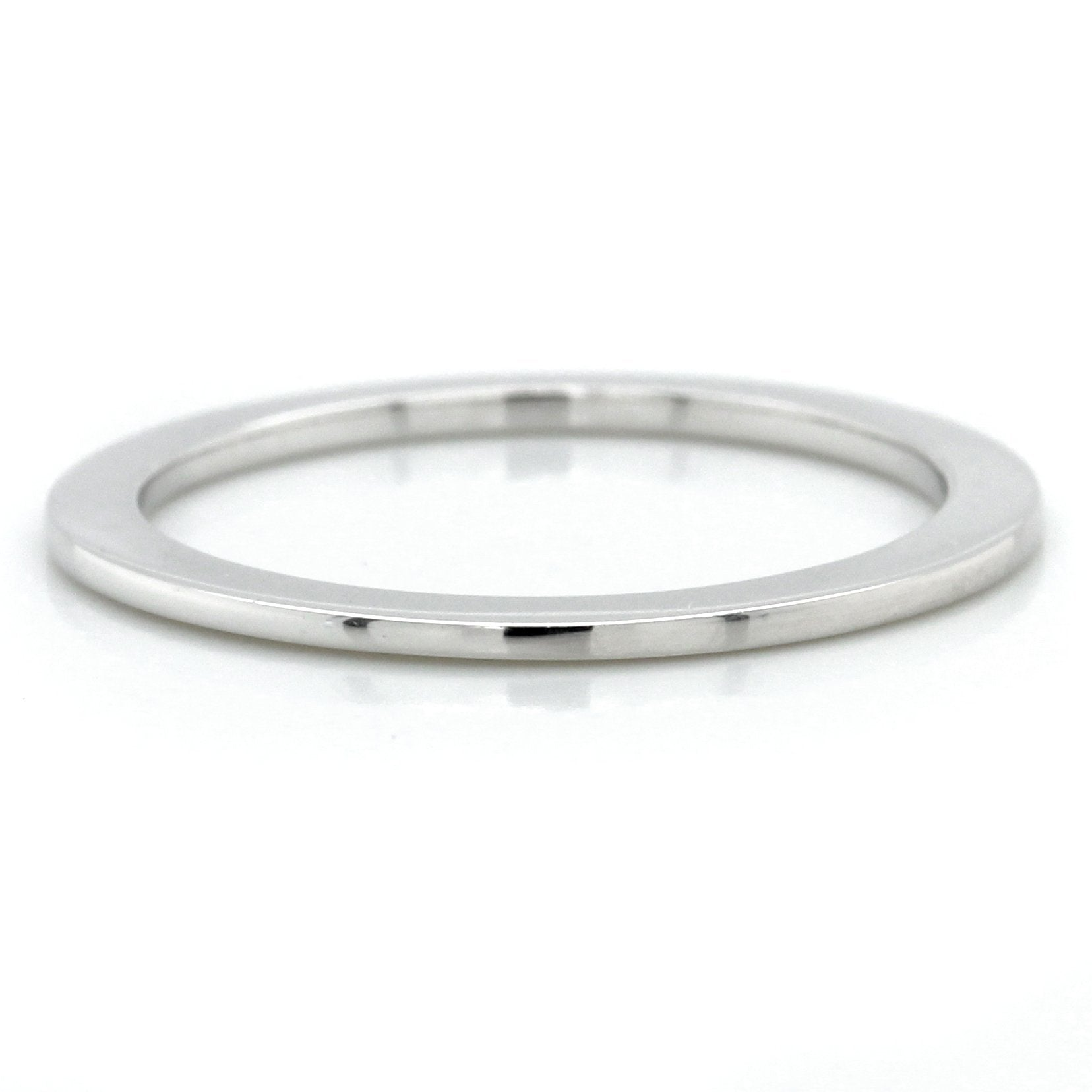 18K White Gold Spacer Band