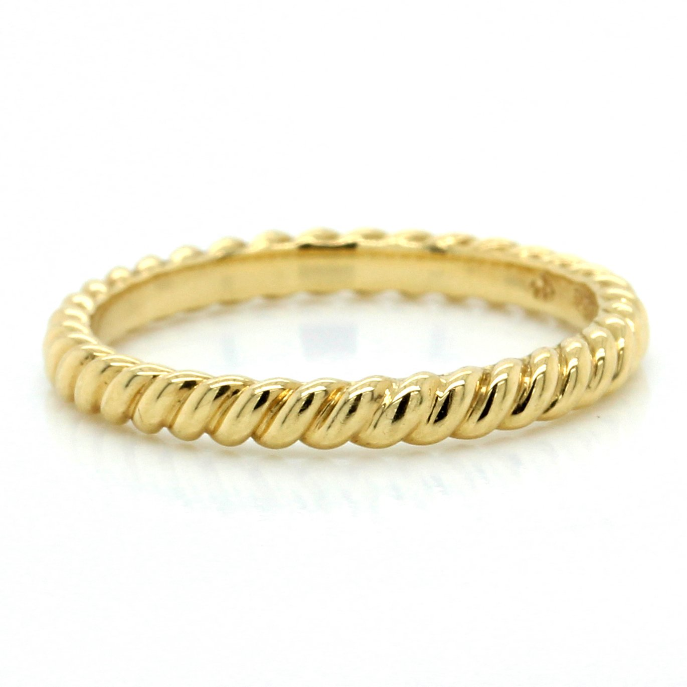 18K Yellow Gold Cable Band