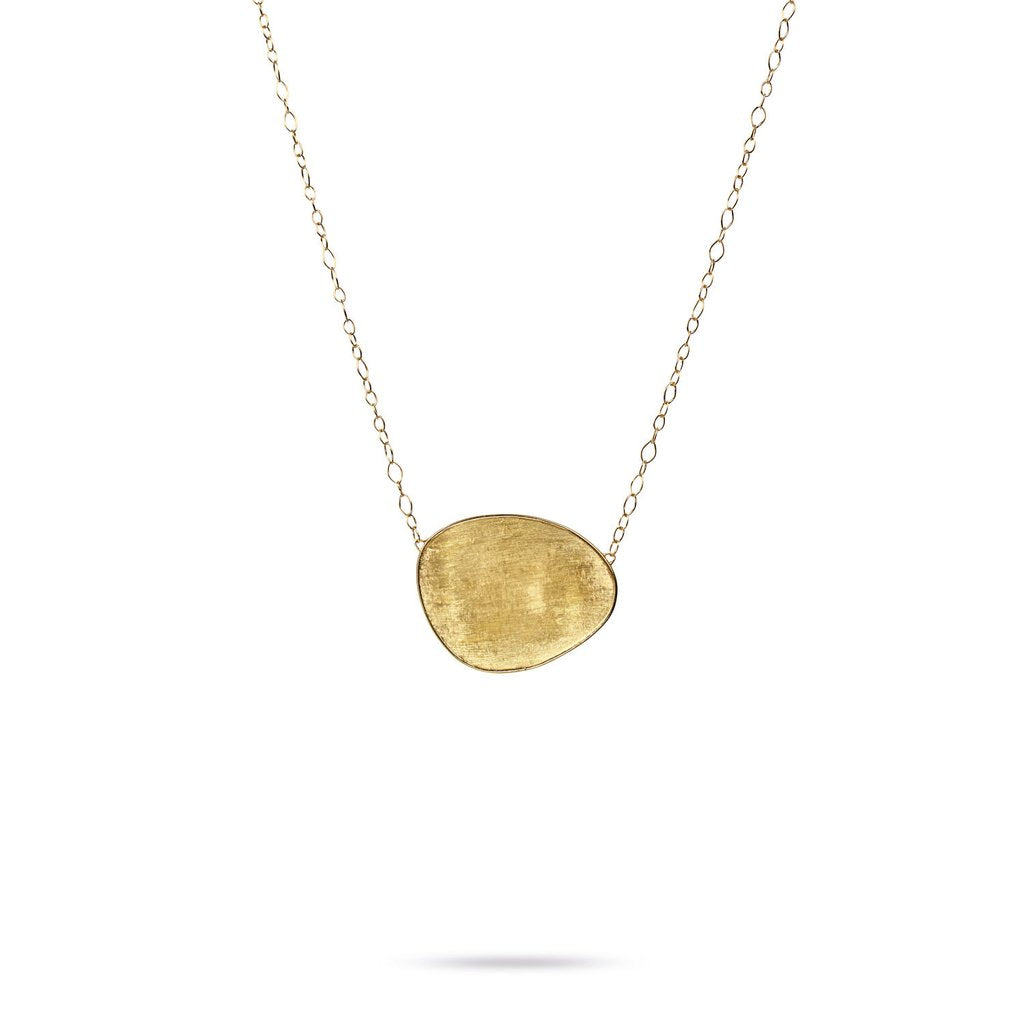 Lunaria 18K Yellow Gold Large Pendant