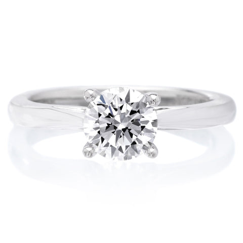 18K White Gold Lindsey Engagement Ring