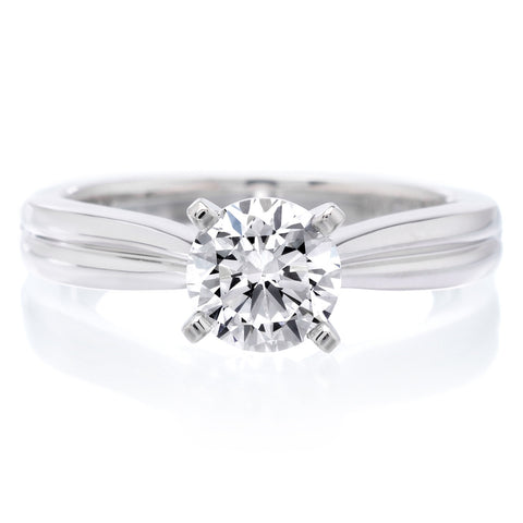 18K White Gold Irene Engagement Ring