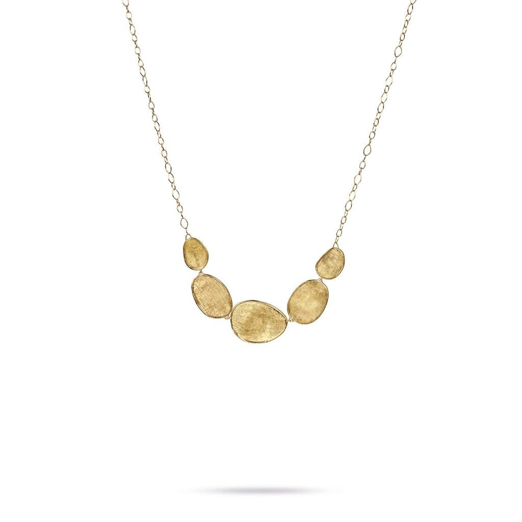 Lucia 18K Yellow Gold Graduated Necklace
